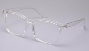 Clear lenses eye protection glasses
